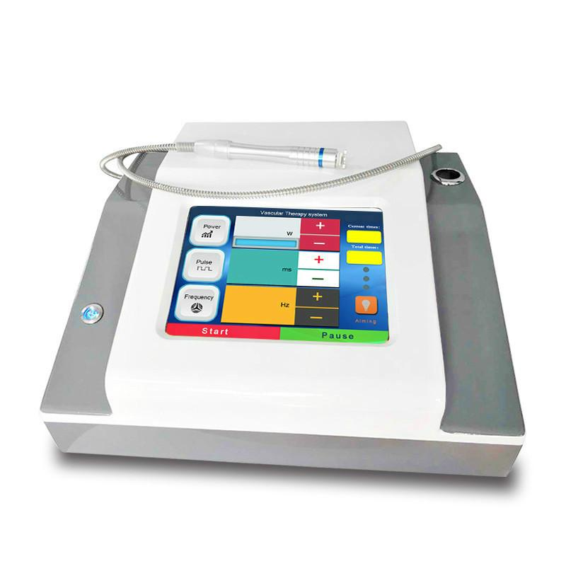مصنع السعر 980nm العنكبوت المنوال آلة إزالة ليزر ديود آلة العلاج الأوعية الدموية مع ضمان سنتين مجانا
