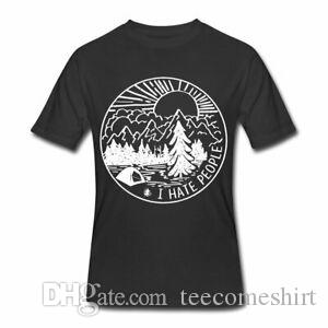 Kamp Ben İnsanlar Erkek ler 50 T Shirt Nefret