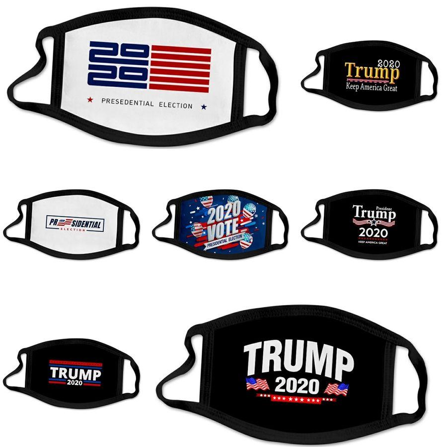 F 1 1Pcs Mascarillas 3 capas a prueba de polvo facial Maske er Ski Set Polvo Diseñador Trump Máscara facial adultos mascarillas E7M # 418