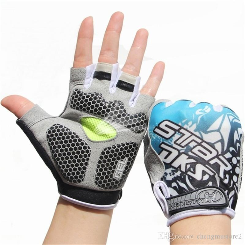 Hot Weight Lifting Gloves Workout Body Building Gym Gloves Half Finger Fitness Anti Slip Bar Grips Power Training Exercise Mittens