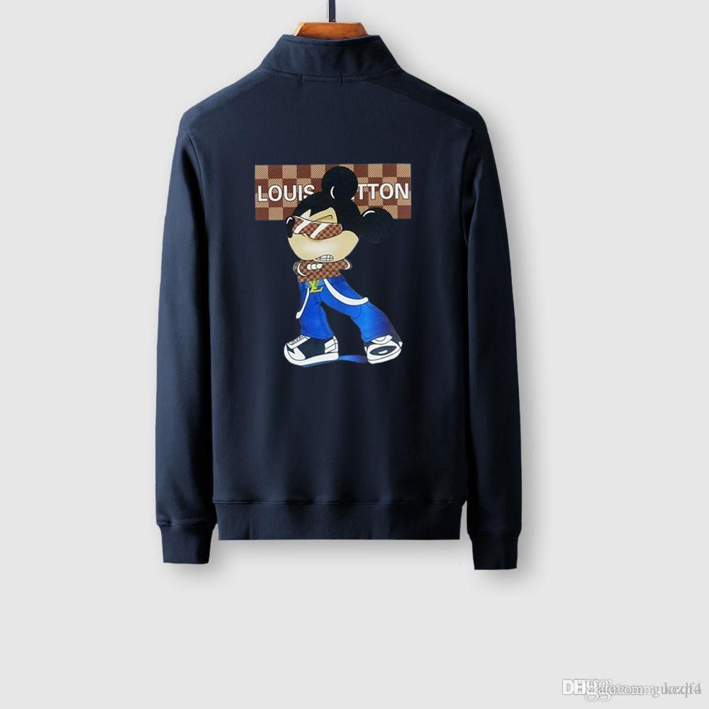 20 ss all'ingrosso 2020 Moda Costola inferiore disegno Pendolo Mens Jackets Pocket decorazioni pilota Giacche giovanile popolarità Viso Giacche GUOZH4