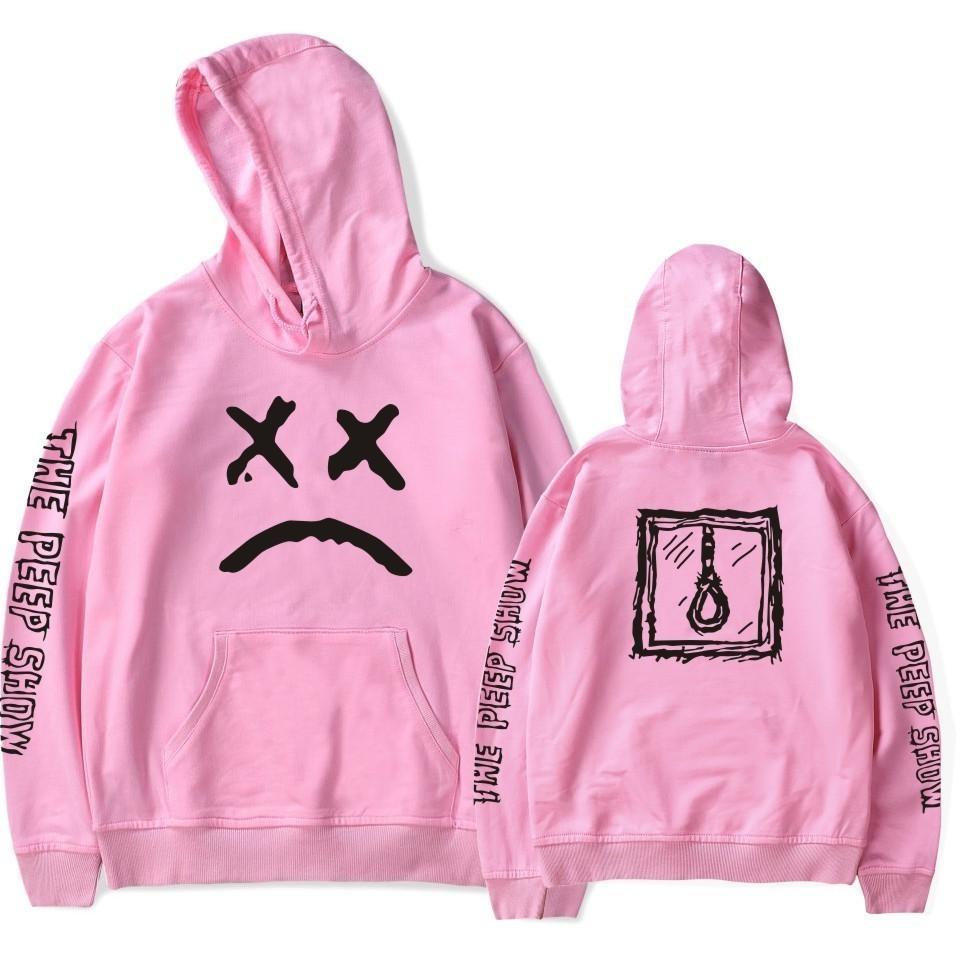 Lil Peep Hoodies Love Lil.peep Men Sweatshirts Hooded Pullover Sweatershirts Male/women Sudaderas Cry Baby Hood Hoddie C19040302