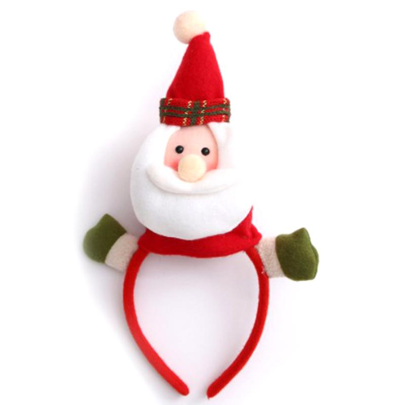 Decorações do partido Chefe de Natal Buckle Hoop Festival IALJ Top Novos Natal Decoração Props infantil