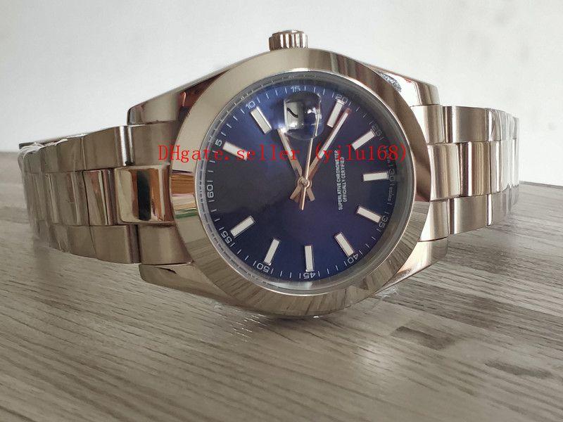 4 цвета продажи роскошные мужские складные часы 41 мм президент Datejust 126300 Азия 2813 механизм автоматические часы складные механические нержавеющая