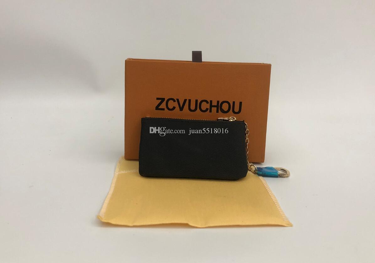 특별가! KEY POUCH 다미에 가죽 높은 품질의 유명한 고전 디자이너 여성에게 키 홀더 동전 지갑 작은 가죽 제품의 가방을 보유
