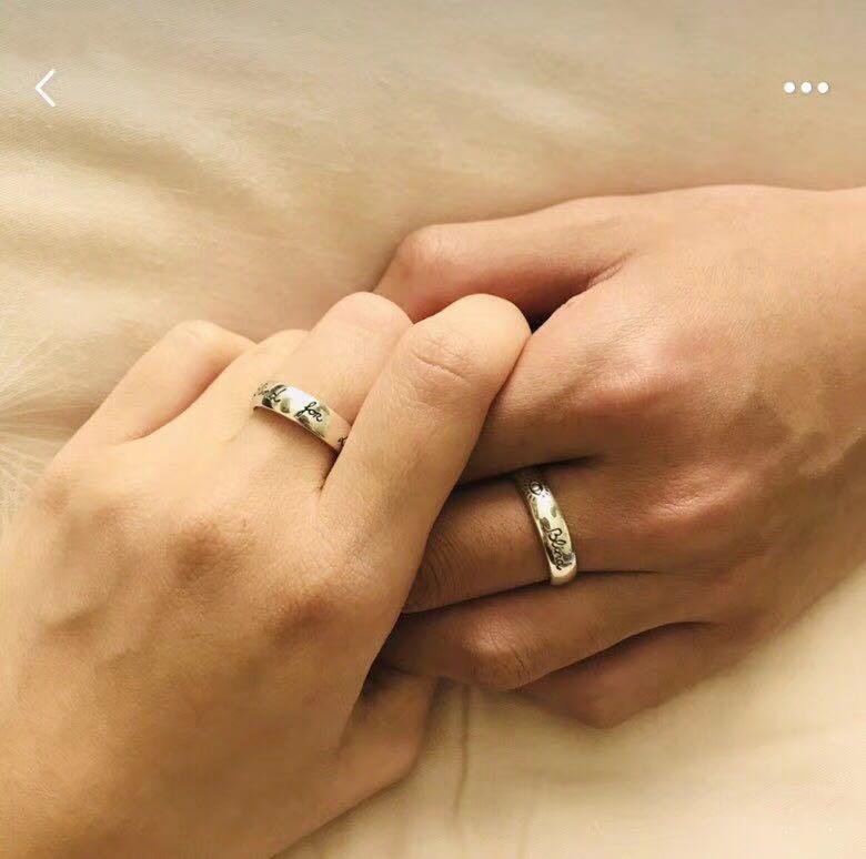 selos moda- cegos para os anéis de amor de grife para homens e mulheres Design senhora jóias luxo partido casamento do acoplamento com a presente cuples