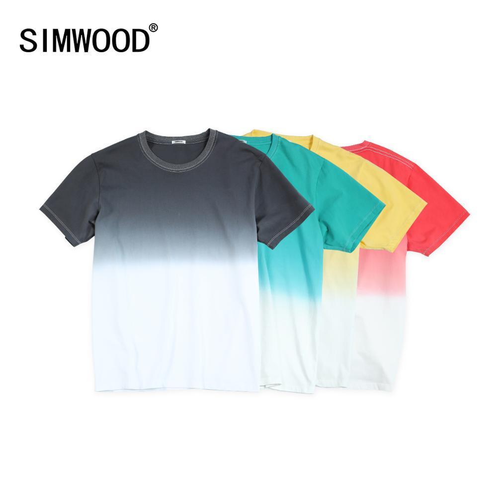 Cuello de verano Tinta camiseta Color de contraste 100% Tops de algodón causal transpirable más Tize Tize SI980533 KG-554