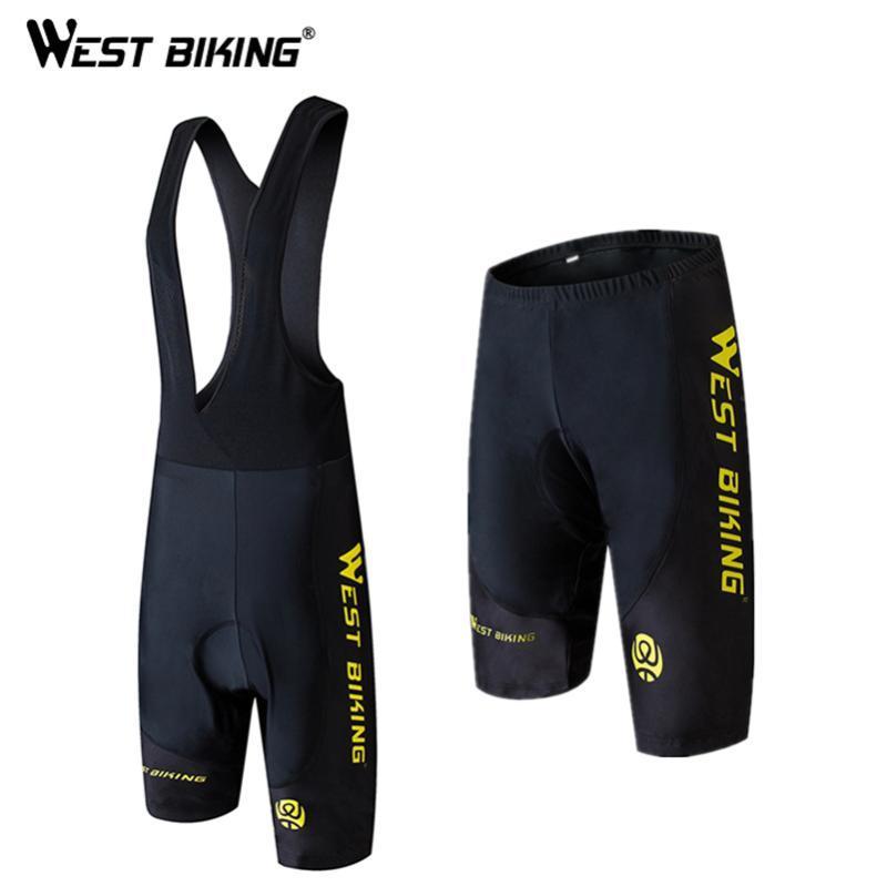 WEST BIKING Summer Cycling Short Pants Bike Tight Ciclismo Quick-dry Outdoor Sport Bicycle Shorts Trousers Cycling Bib Shorts