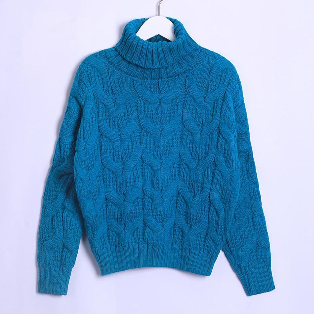 Frieed Men Turtleneck Knit PulloverStylish Winter Long Sleeve Sweater