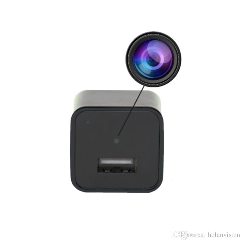HD USB 플러그 미니 카메라 US / EU 충전기 무선 WIFI P2P IP 카메라 AC 어댑터 소매 상자와 소켓 감시