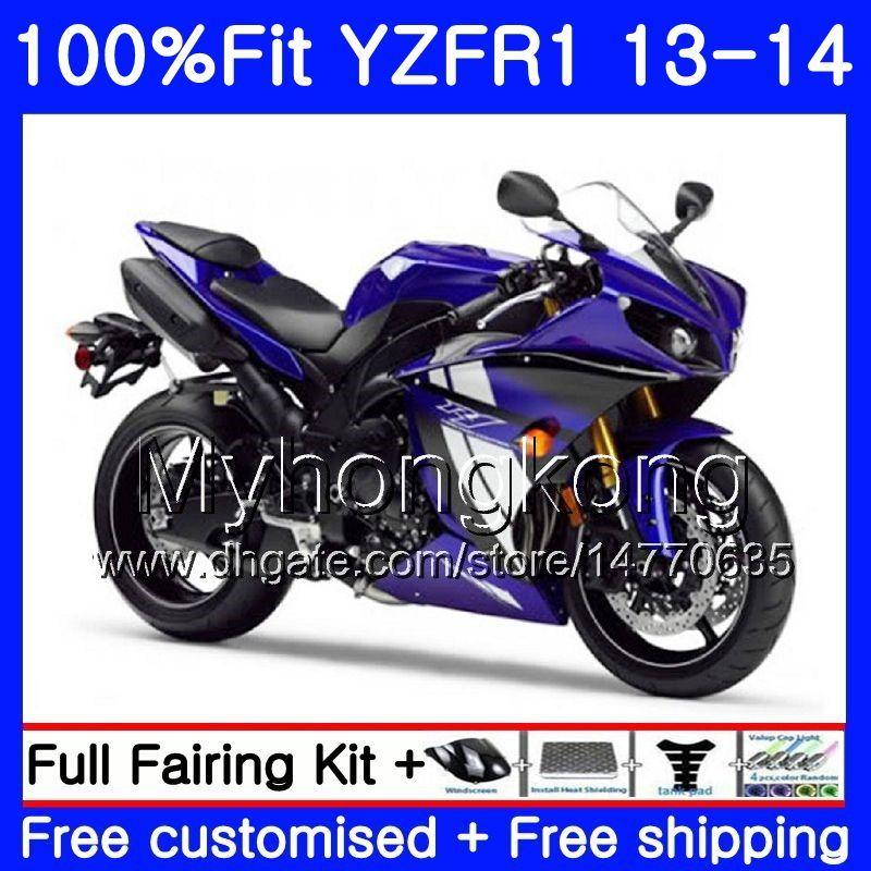 Corpo de injeção para yamaha yzf 1000 YZF R 1 YZFR1 2013 2014 242HM.0 YZF-1000 YZF R1 YZF1000 YZF-R1 13 14 Kit de Carenagem Completa