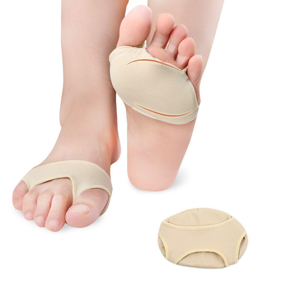 Fabric Gel Metatarsal Ball Of Foot Insoles Pads Cushions Forefoot Pain Support Front Foot Pad Orthopedic Pad Insoles 3 sizes