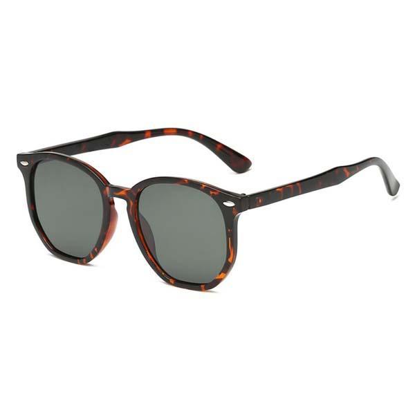 Мода Нерегулярной Женщина Мужчины солнцезащитных очки Cateye Марк Дизайнер шестигранные ВС Очки для дашь диапазон Открытого Luxuries Eyewear 4306 со случаями