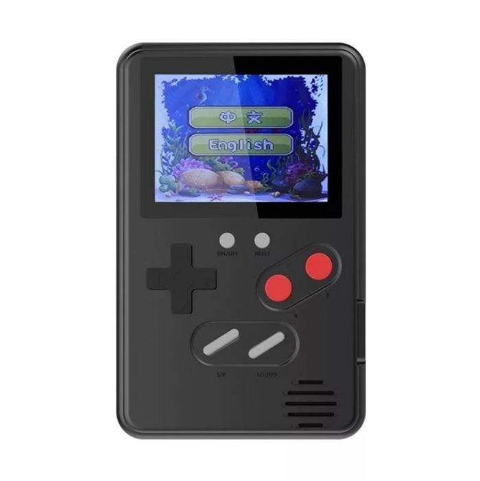 Upgraded 500 Games Ultra Thin Mini Handheld Game Console Portable Classic Video Game Player Color Display With Retail Box