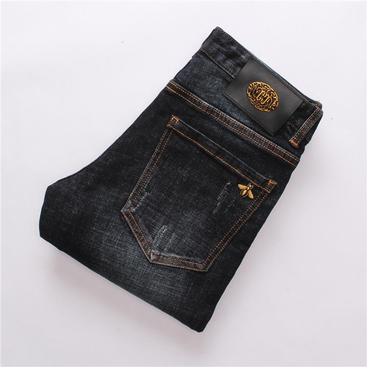 Fit Мужская одежда Original Design Мужчины Мода джинсы Идеальные качества Брюки прямые брюки Тонкий и удобные штаны