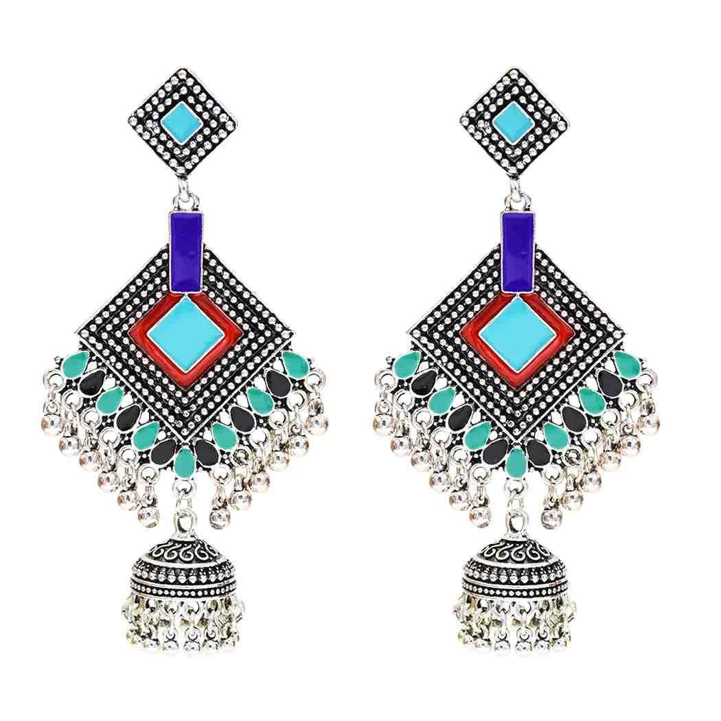 European and American new diamond bell school small pearl ladies popular pendant