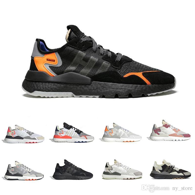 Nouveau nuage d'arrivée de base noir Nite chaussures de course jogger nuit de réflexion pour hommes, femmes triple baskets de sport formateur respirant blanc
