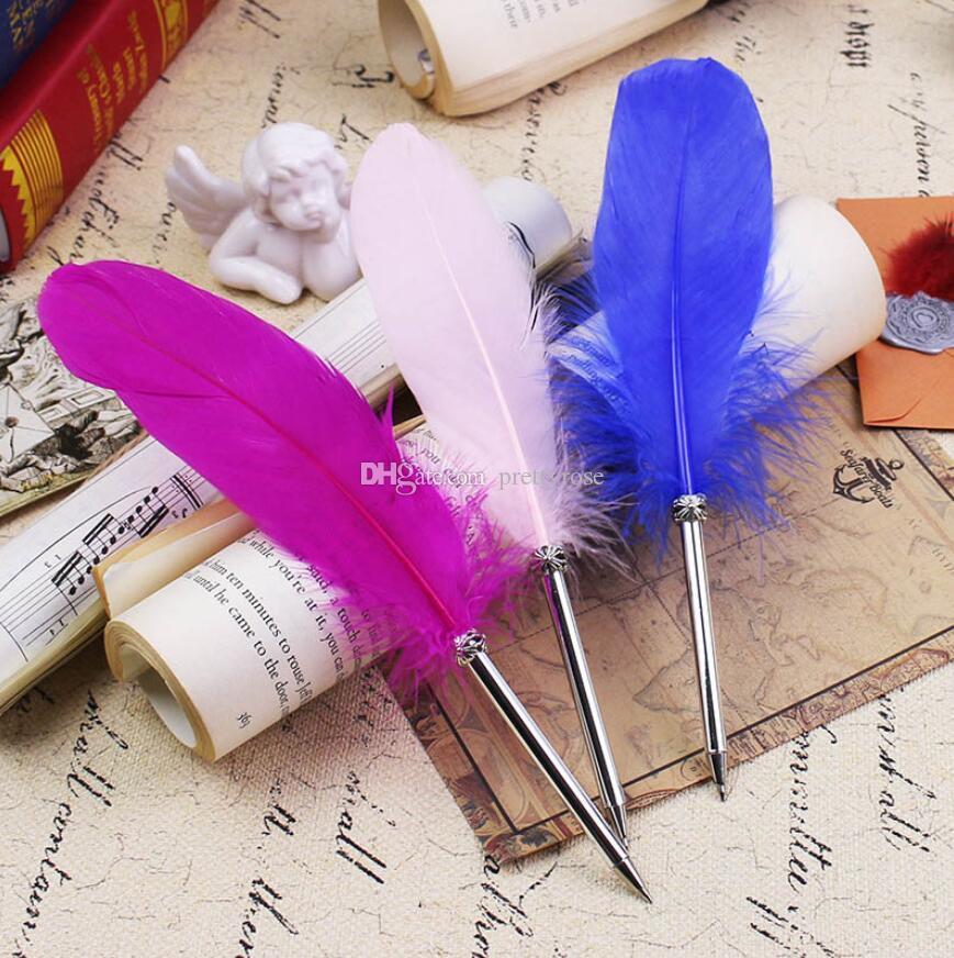 Plumas hermosas Plumas Bolígrafo Escritura Firma para útiles escolares Artículos de papelería Artículos baratos Artículos de papelería de la pluma de Kawaii lindo 14 colores