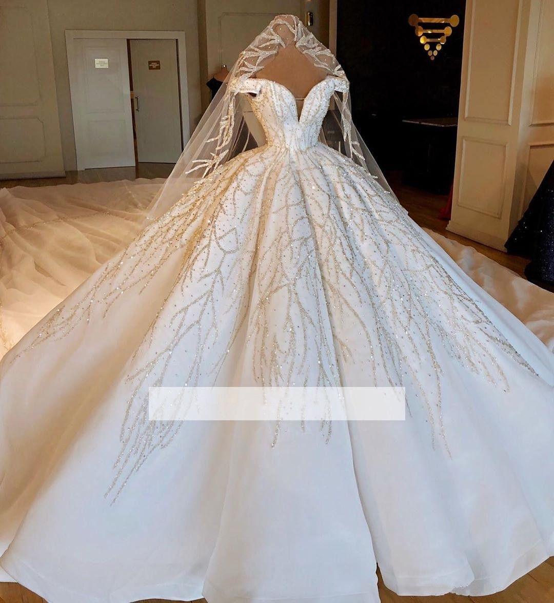 Acheter 2019 Luxe Robes De Mariée Robe De