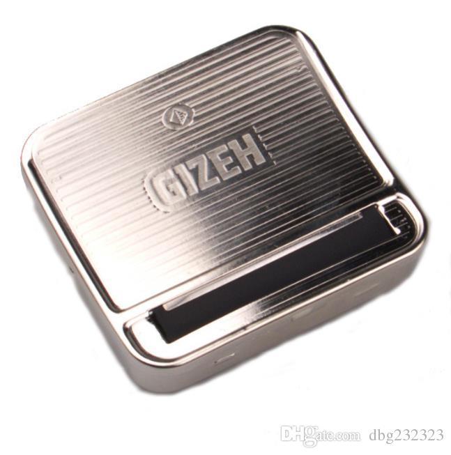 Fabricant semi-automatique de cigarette de boîte en métal en acier inoxydable semi-automatique de vente chaude de 70mm