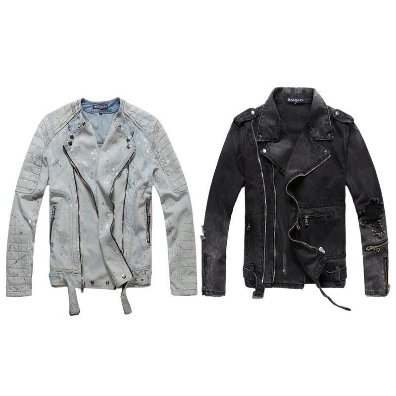 Balsam Designer Jacke Mode Mantel Männer Frauen Denim Mantel Casual Hip Hop Designer Jacke Herren Bekleidung Größe M-4XL