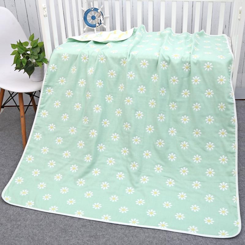Шесть-слоя хлопка ванны марля полотенце банное полотенце одеяло ребенок не стегать не детское постельное белье флуоресцентный агент