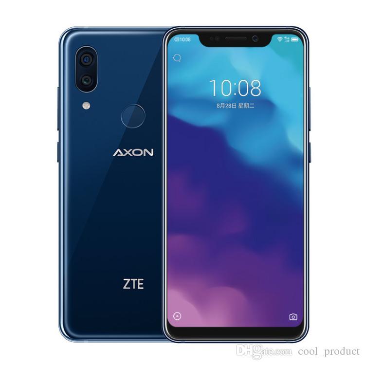 "Original ZTE Axon 9 Pro 4G LTE Telefone Celular 6 GB RAM 64 GB ROM Snapdragon 845 Octa Core Android 6.21 ""20MP ID da impressão digital NFC Telefone Móvel Inteligente"