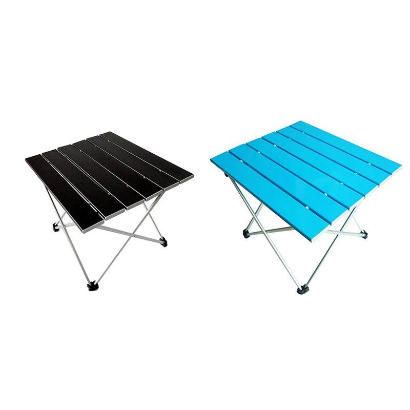 En alliage d'aluminium pliant portable Voyage en plein air loisirs table Camping Table de pêche