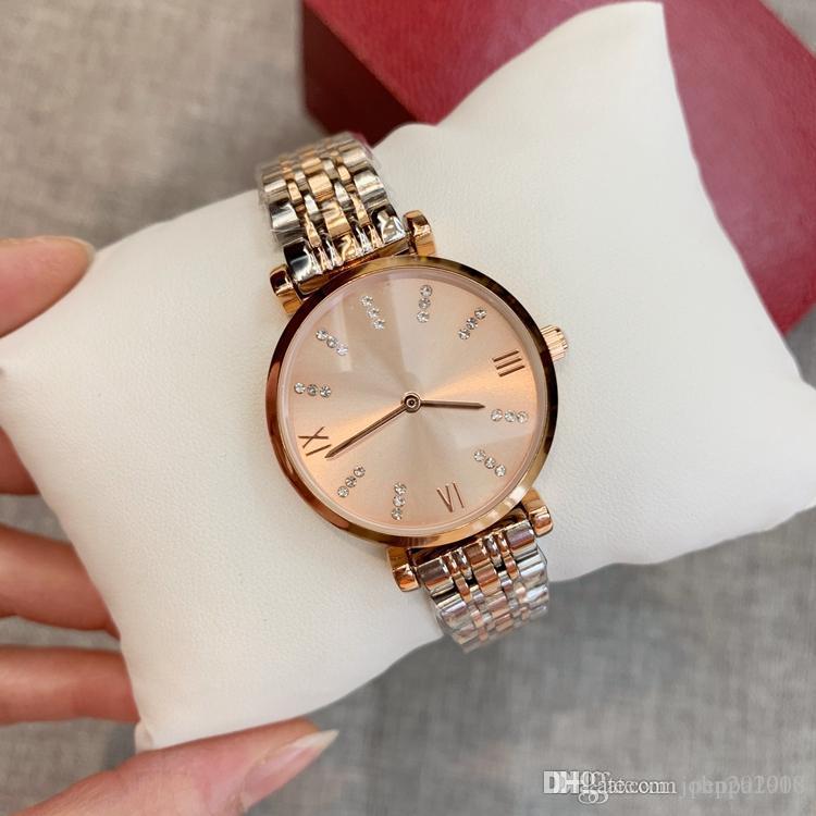 2019 novo luxo estilo Top qualidade relógios para assistir mulheres Moda ouro rosa pulseira de aço inoxidável relógio de pulso fêmea Limitada
