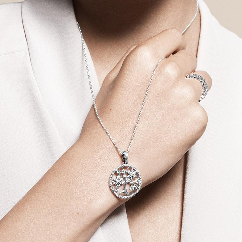 Wholesale 2019 925 Sterling Silver Family Tree Of Life Pendant Necklace With Logo Engraved Fit Pandora Jewelry Men Women Necklace Fine Jewelry Pendant Necklaces From Howshuai 44 52 Dhgate Com