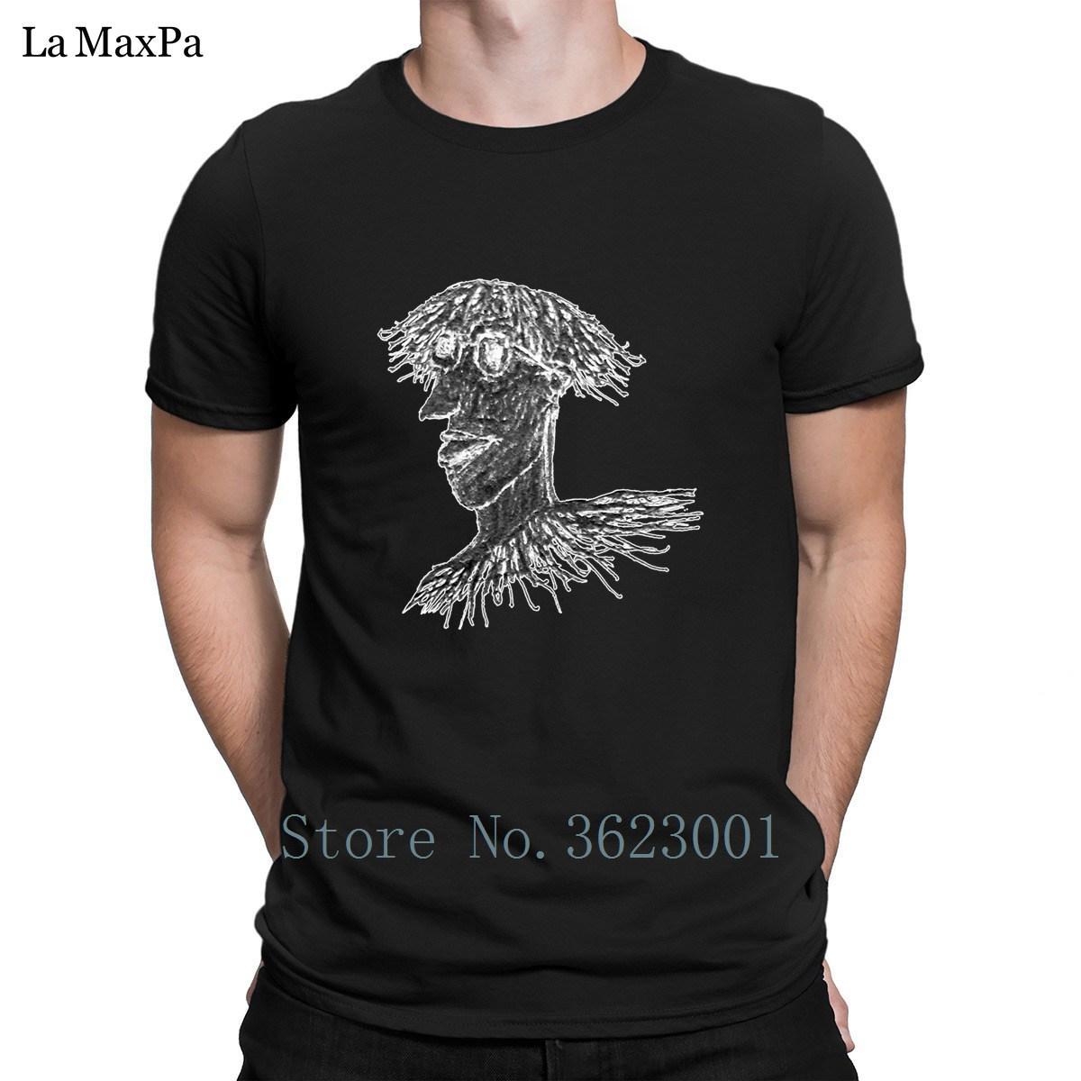 Casual camisetas fresco camisetas Roupa T-shirt Jovem Homem longo do cabelo com vidros de Homens Drawing For Men Funky do Plus Size 3xl bonito
