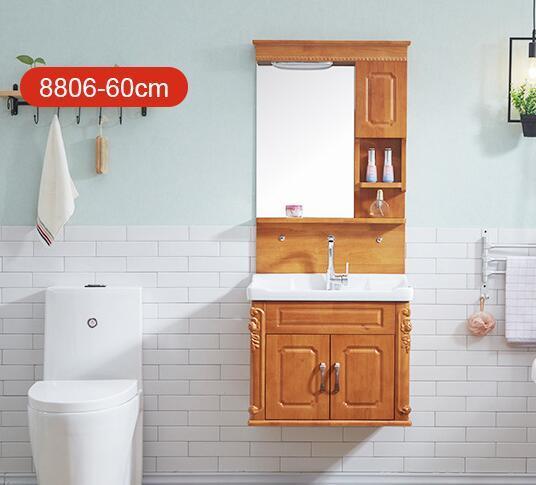 Cuartos De Bano El Mueble.Compre Muebles De Bano Mueble De Bano De Roble De 90 Cm Europeo Cuarto De Bano Combinado Lavabo Lavabo Mesa De Lavabos Muebles De Madera Sanitarios A