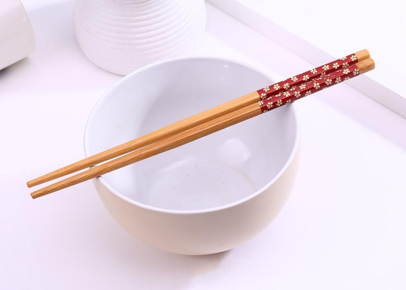 Bambus Stäbchen Praktische Chopstick Natur Verholzung der neuen Art-Ess-Stäbchen Personalisierte Hochzeit Bevorzugungen Werbegeschenke Geschenk Heißer Verkauf 000
