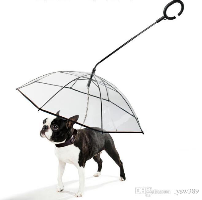شفاف نمط مظلة C قابل للتعديل مشي طوق Gog في الأيام الممطرة الكلاب في الهواء الطلق يمدد لوازم الحيوانات الأليفة HA320