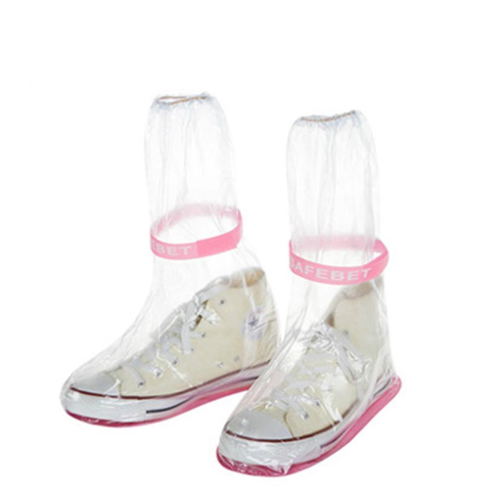 Водонепроницаемая крышка башмака для взрослых Flattie Дождевые Бахилы С Прочный материал ПВХ для путешествия Unisex Туфли Протекторы дождя сапоги