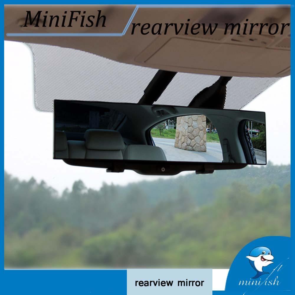 300мм Большой Видение Авто Proof зеркало заднего вида Угол Обзорный Anti-ослепляя автомобилей Внутреннее зеркало заднего вида