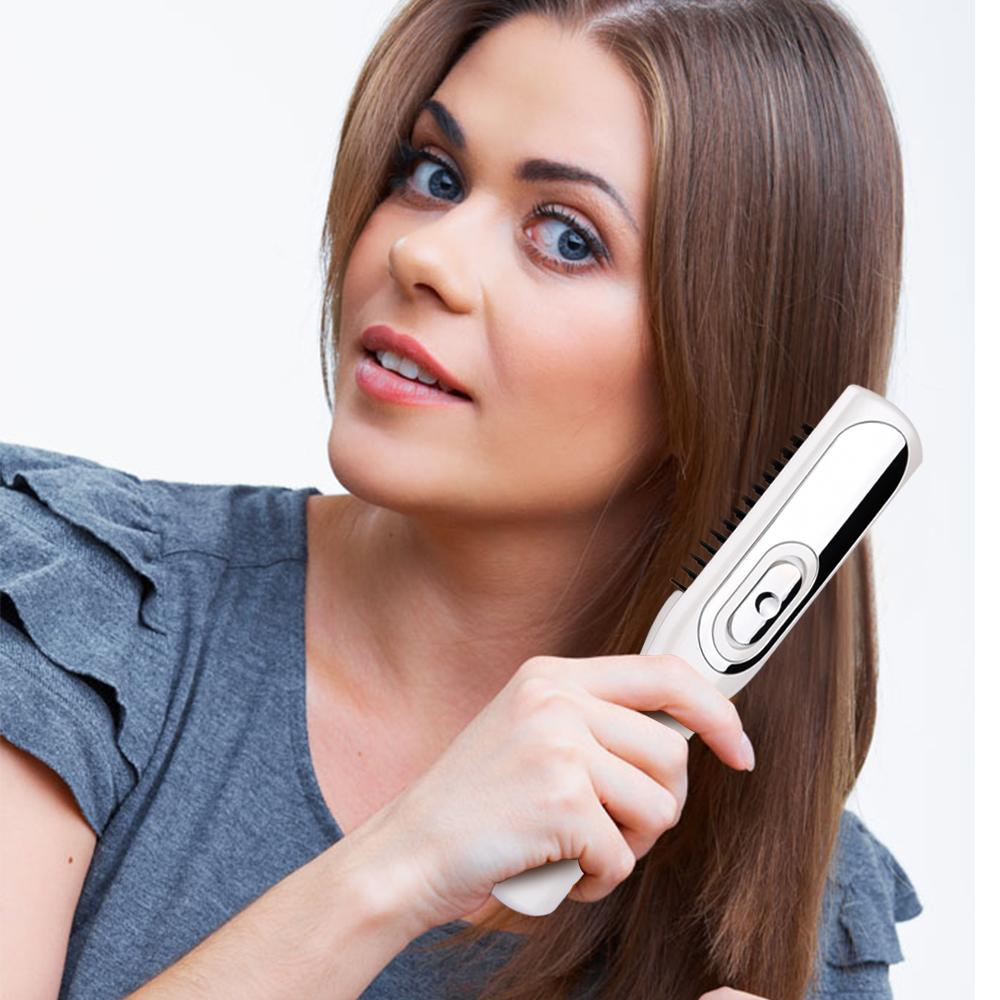 2 In 1 Laser Massage Comb Massage Equipment Comb Hair Growth Care Treatment Hair Brush Grow Laser Hair Loss Therapy