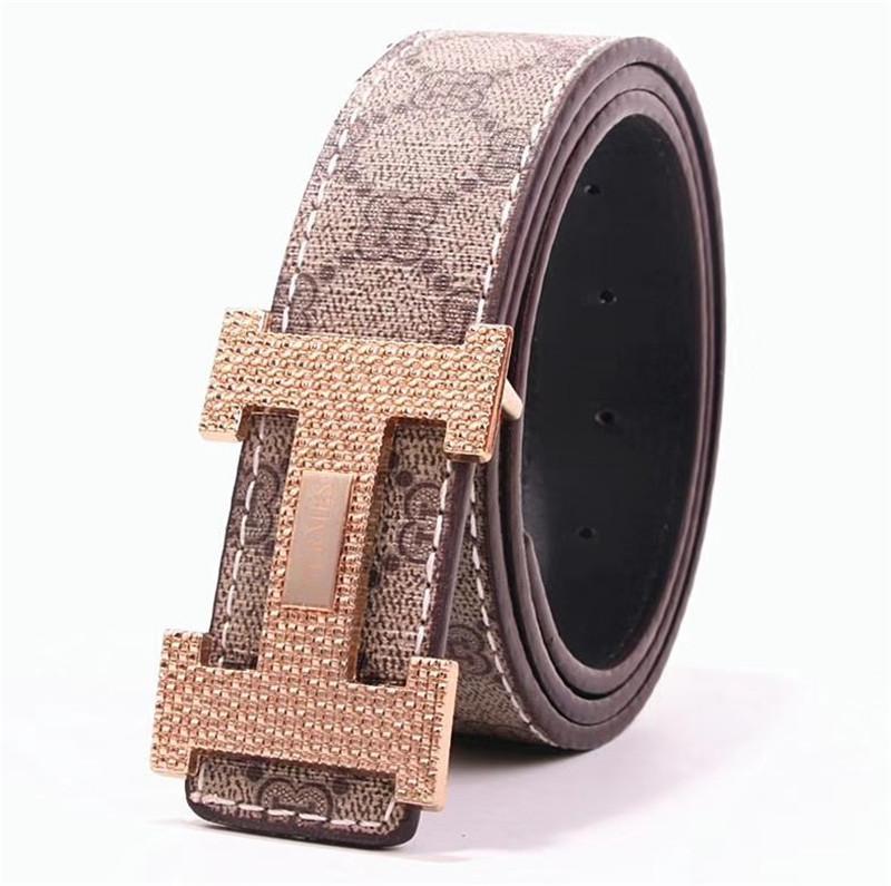 Männer Gürtel Designer Frauen Gürtel Luxus Gürtel Männer großer Schnallengurt Top-Mode für Männer Ledergürtel Großhandel