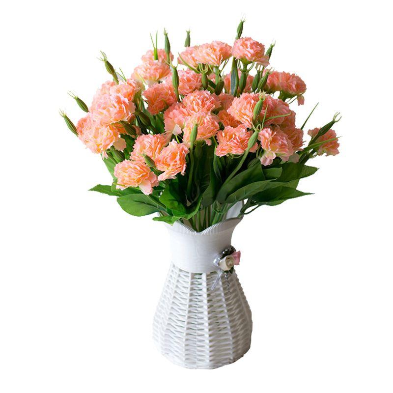 21 têtes artificielles fleurs soie bouquet bouquet mariage à la maison plein air
