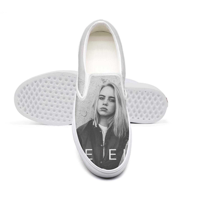 Lona ocasional Billie Eilish unisex, top del punto bajo zapatos antideslizantes, de diseño clásico de la moda limitado, edición Billie Billie-Eilish Eilish malo mv
