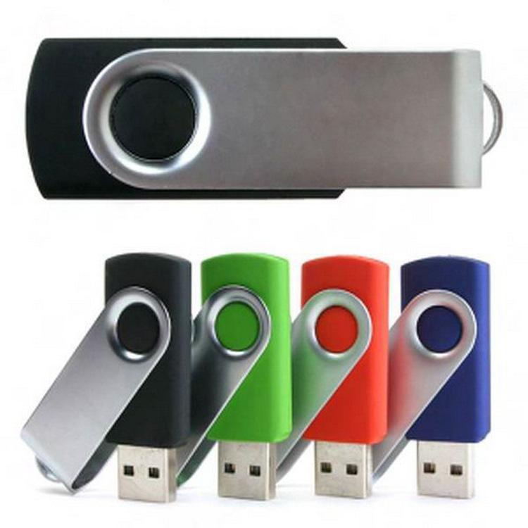 Металл вращения USB флэш-накопитель 128 ГБ флэш-накопитель высокая скорость памяти Stick U диск 4 ГБ 8 ГБ 16 ГБ 32 ГБ 64 ГБ флешки подарок