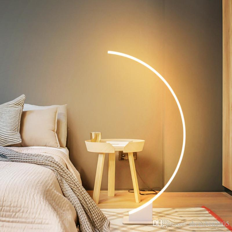 2020 Simple Modern Creative Personality Led Dimmable Floor Lamp Table Lamp Bedroom Bed Led Living Room Led Eye Protection Floor Lamps From Shenzhen2005 784 69 Dhgate Com