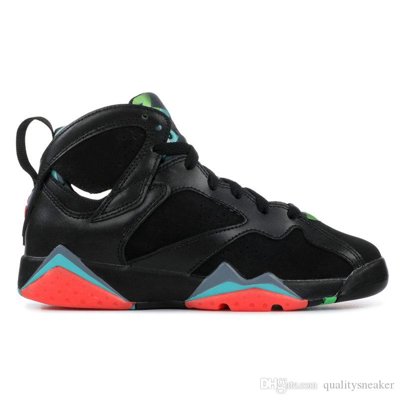 New 7s Barcelona Nights Men Basketball Shoes 7 Bordeaux UNC Pantone Hare Raptor French Blue Pure Money HOT LAVA Sweater Designer Sneakers