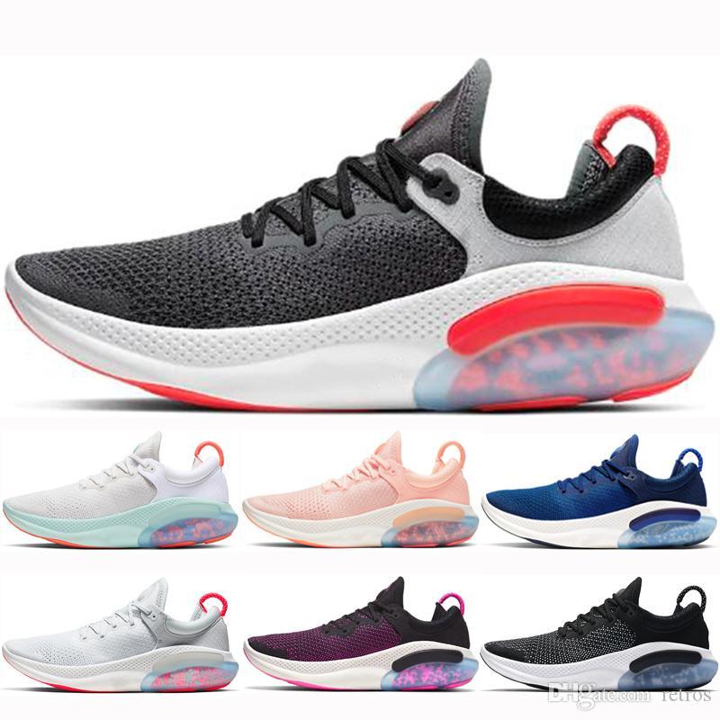 Nuevo llega el Joyride Run Hombres Mujeres Running zapatos para hombre Negro Rojo Plantinum Tinte Tinte Oreo Sunset Racer Diseñadores de deportes azul zapatillas de deporte