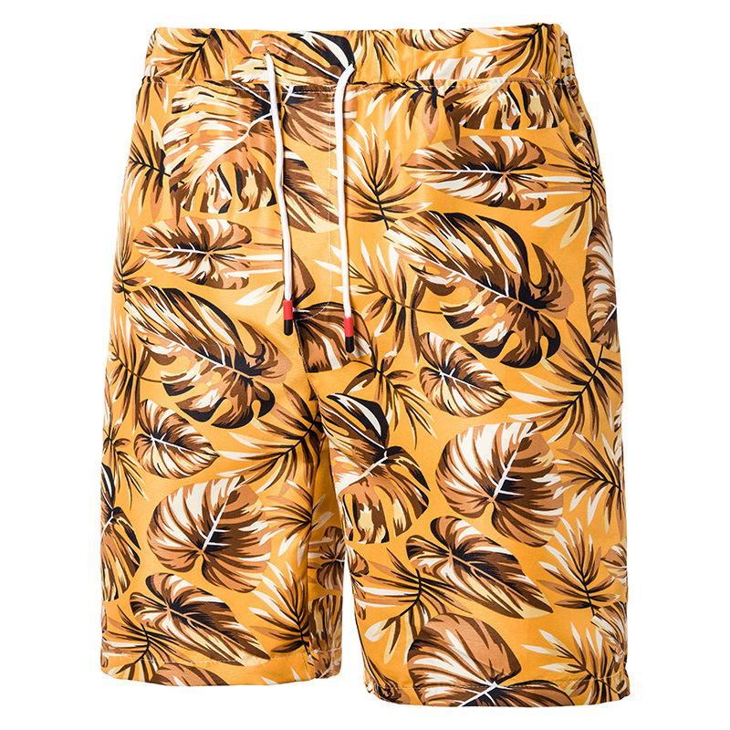Cool2019 Homme Européene Agrandir Code Temps libre Impression Pantalon Fivepence Short Sandy Beach K Hc