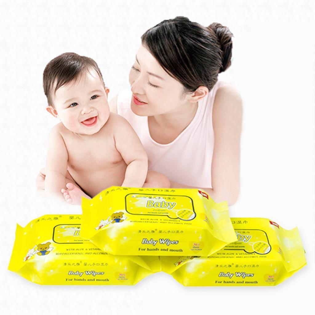 30 pcs Wet Wipes bebê Saneantes Wipes Unscented Wet Wipe Sem álcool por pacote toalhetes desinfectantes Sanitizer Caja Toallitas húmedas