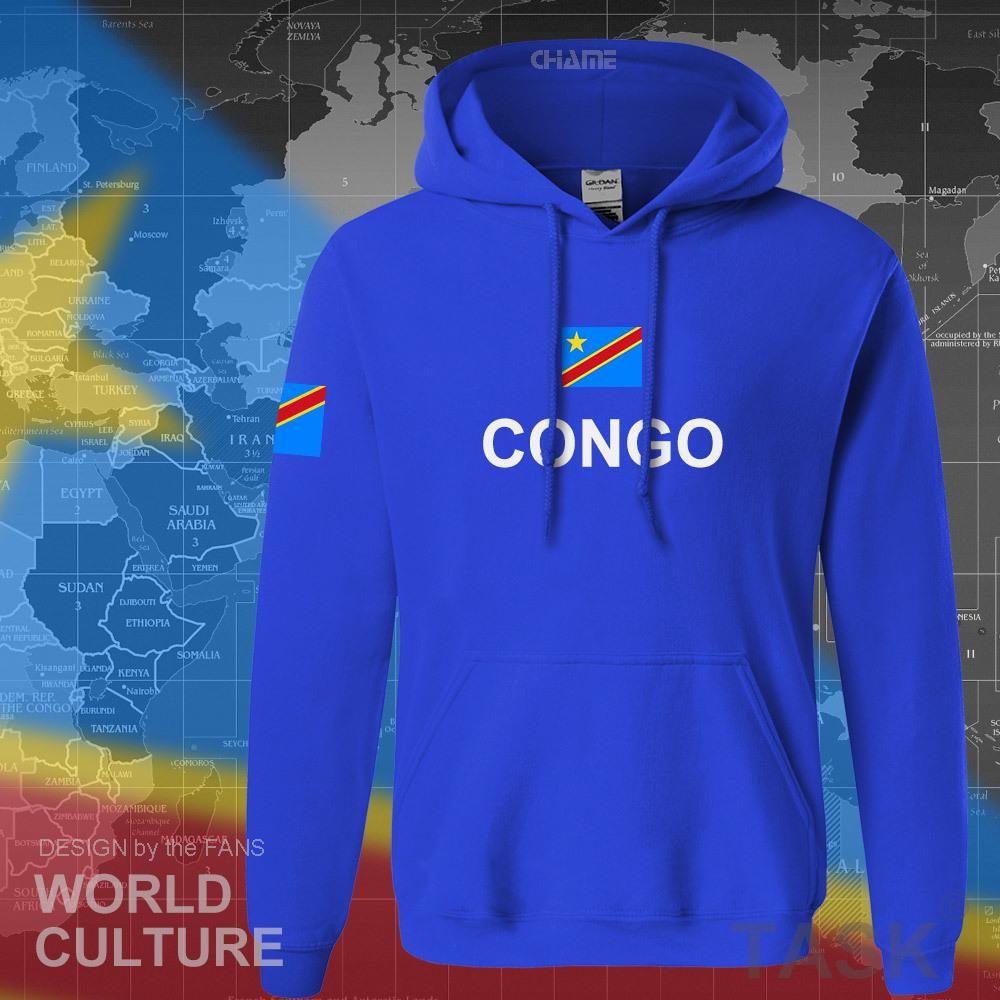 DR Congo hoodies hommes sweat suent nouveau survêtement de sport de vêtements hip-hop streetwear COD RDC DROC Congo-Kinsha congolais Y200519