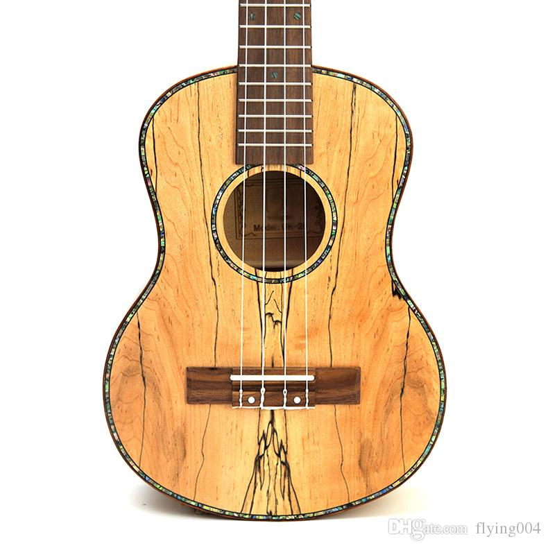 "De alta calidad de 23"" tenor de madera maciza completa putrefacto de madera 4 cuerdas de la guitarra ukelele pequeños mini Hawaii guitarra acústica ukelele concierto Uke"