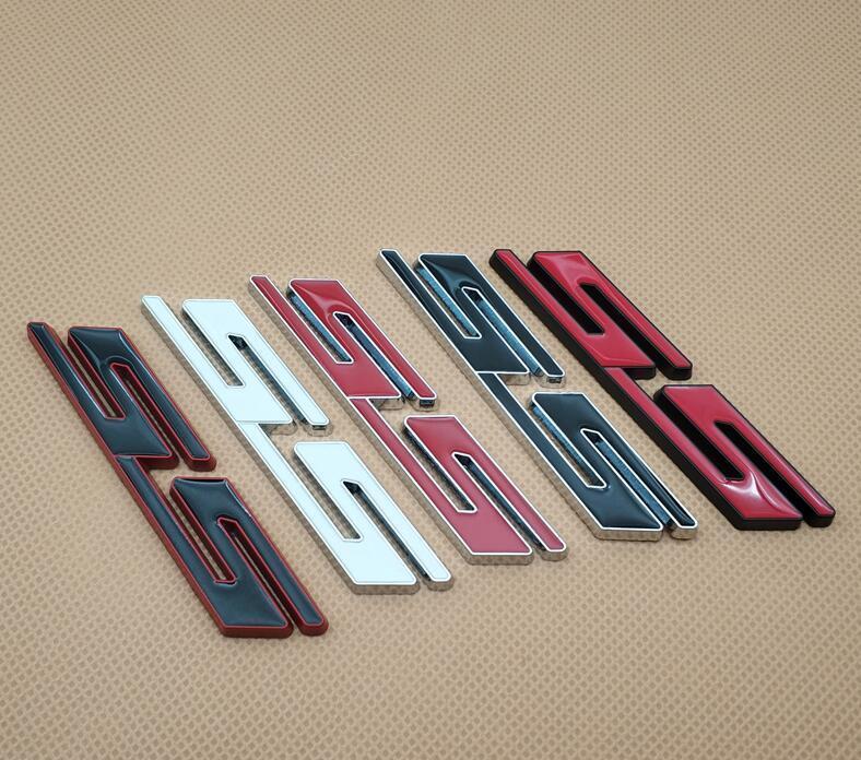 Car Styling metal Carta Auto Emblem Sticker Tronco Ss Lid Fender emblema decalque