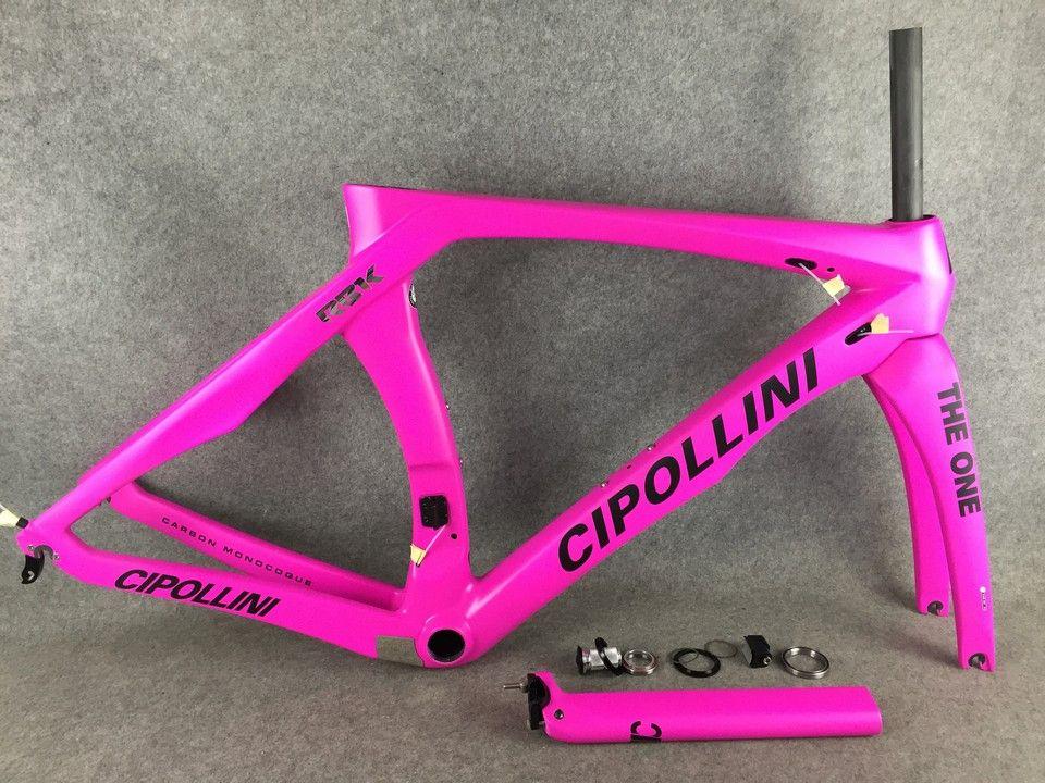 Cipollini RB1K Quello rosa telaio da strada in carbonio impostare strada telaio della bicicletta Full Carbon strada della fibra del telaio della bici 2020